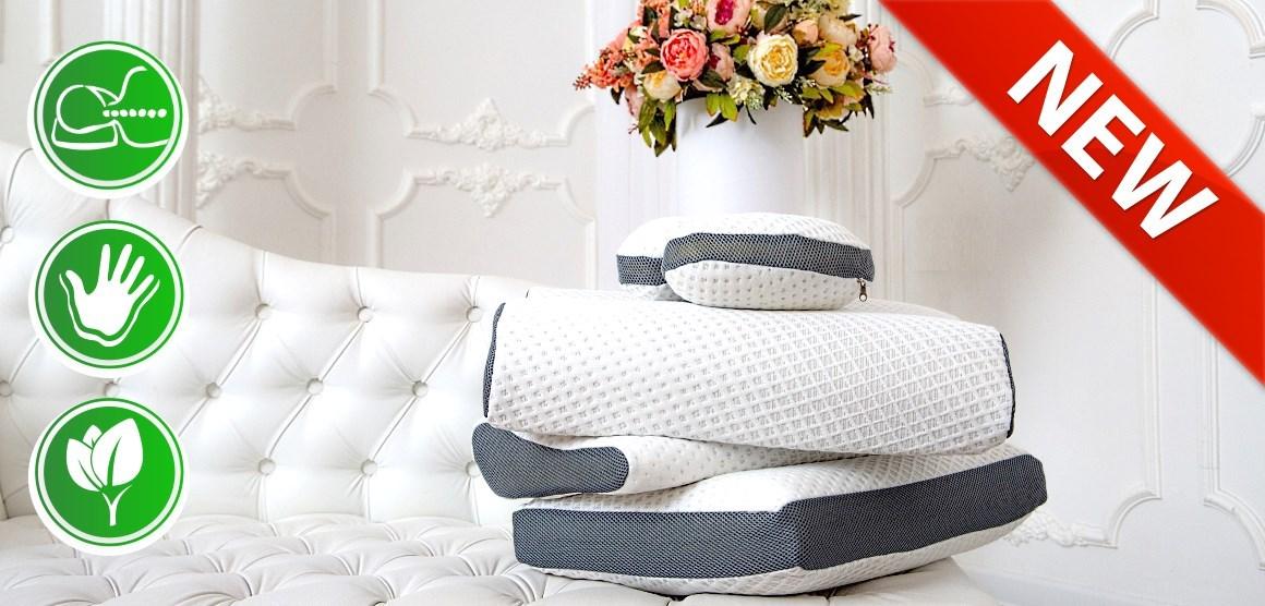 анатомические подушки с эффектом памяти