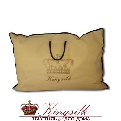 Элит 50*70 1 кг Шелковая подушка Kingsilk Elisabette Элит E-A50-1-Per персиковая - фото 25346