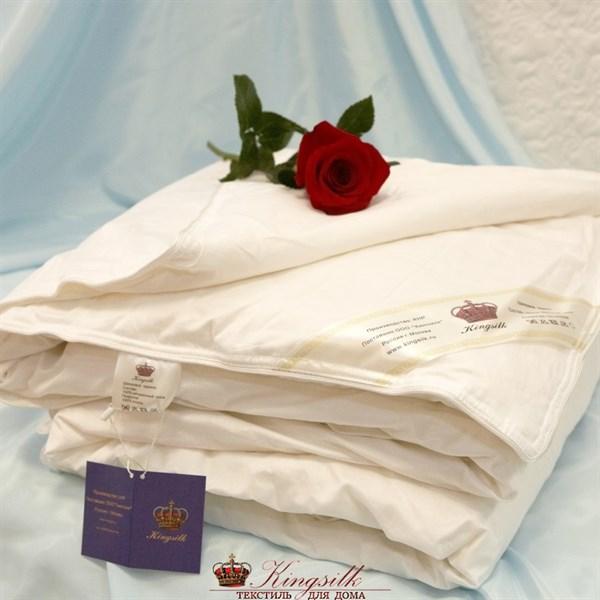 Классик 200*220 1,5 кг Шелковое одеяло Kingsilk Elisabette Классик K-220-1,5 всесезонное - фото 26585