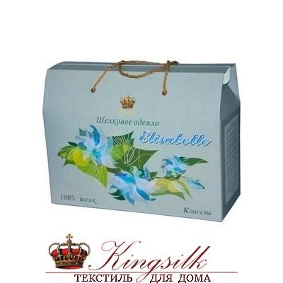Классик 200*220 1,5 кг Шелковое одеяло Kingsilk Elisabette Классик K-220-1,5 всесезонное - фото 26589