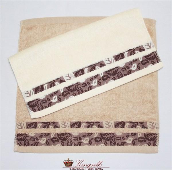 Набор полотенец Grand Stil Листопад какао - фото 27165