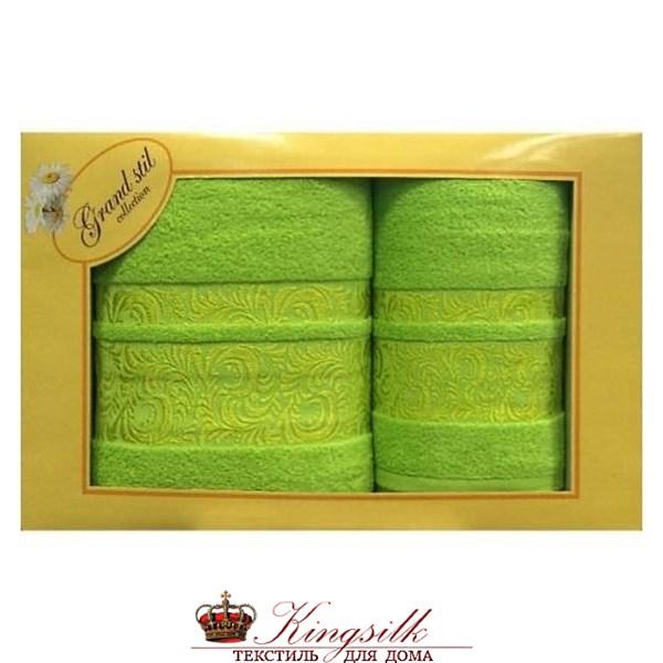 Набор полотенец Grand Stil Мидея салатовый - фото 27171