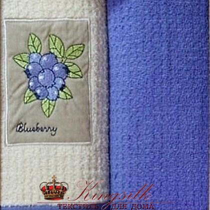 Набор полотенец Grand Stil Черника аппликация б/к - фото 27212