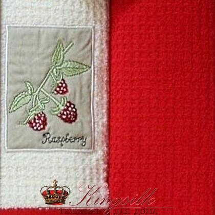 Набор полотенец Grand Stil Малина аппликация б/к - фото 27216