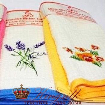 Набор полотенец Grand Stil Цветник Роза б/к - фото 27219