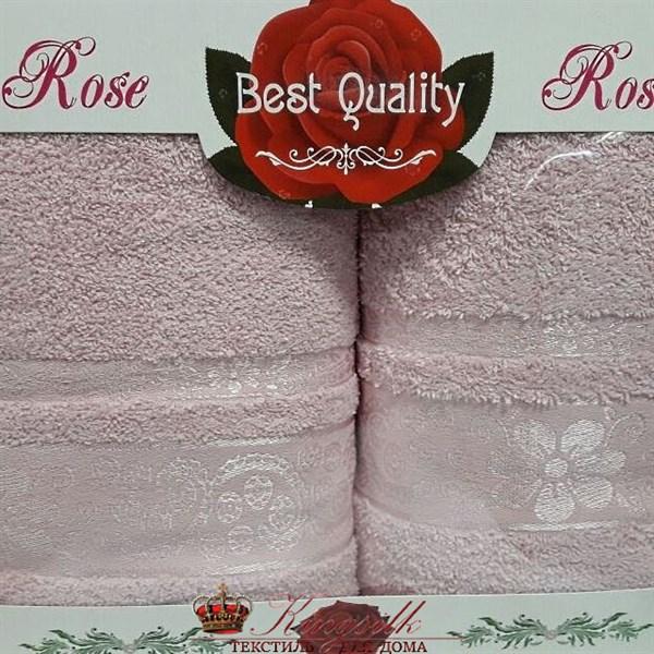 Набор полотенец Korona Style Эмма розовый - фото 27308