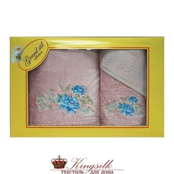 Набор полотенец Grand Stil Виола розовый - фото 27377
