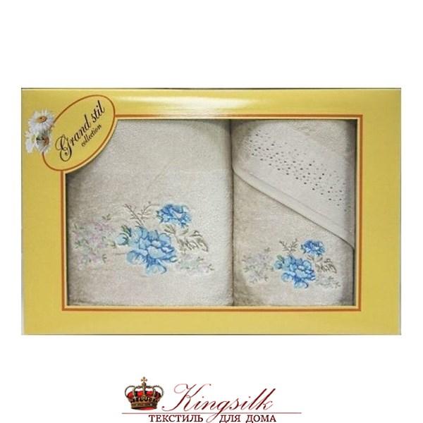 Набор полотенец Grand Stil Виола какао - фото 27381