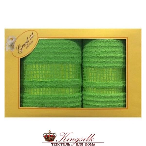 Набор полотенец Grand Stil Восторг салатовый - фото 27385