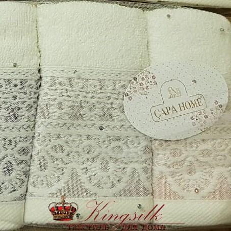 Набор полотенец Capa Home Pol-68-1 Вензель - фото 29862