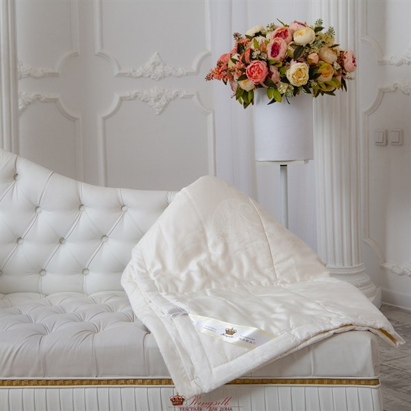 Комфорт 172*205, шелк/тенсел, 1 кг всесезонное одеяло Kingsilk Comfort TA-172-1 - фото 31874