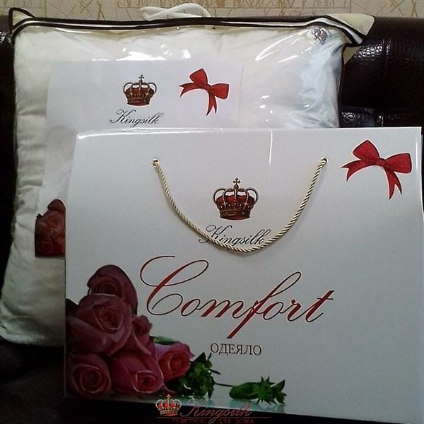 Комфорт 200*220 1,3 кг Одеяло из тенсела Kingsilk Comfort TA-200-1,3 всесезонное - фото 31881