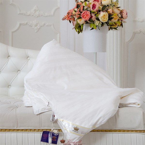 Классик 200*220 1,5 кг Шелковое одеяло Kingsilk Elisabette Классик K-220-1,5 всесезонное - фото 32121
