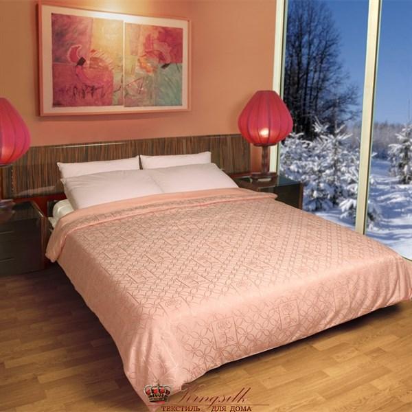 Элит 160*210 1 кг Одеяло Kingsilk Elisabette Элит E-160-1 персиковое всесезонное - фото 32816