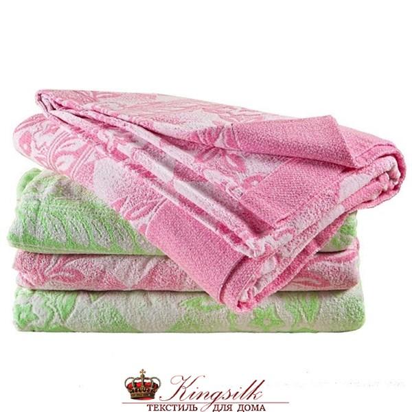 Простыня махровая Kamilla Pr-Mah-180-Pink - фото 33010