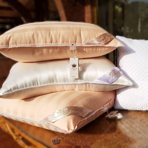 70*70 1,5 кг Mulberry AA Подушка Kingsilk Premium персиковая - фото 34540