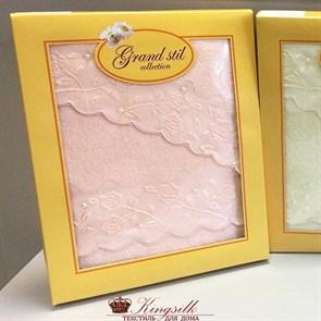 Набор полотенец Grand Stil Жемчужное персиковый 2 шт.