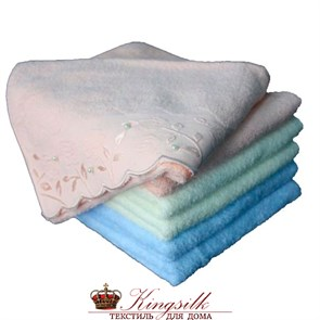 Набор полотенец Grand Stil Жемчужное голубой 2 шт. - фото 27297