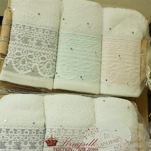 Набор полотенец Capa Home Pol-68-1 Вензель - фото 29863
