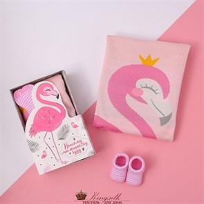 Плед детский KYA-824-90 Фламинго