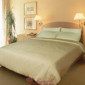 Люкс 200*220 0,9 кг легкое одеяло Kingsilk Elisabette L-200-0,9-Bej - фото 34484