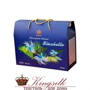 Люкс 200*220 0,9 кг легкое одеяло Kingsilk Elisabette L-200-0,9-Bej - фото 34485