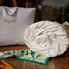 Premium 170*205 1 кг Всесезонное одеяло Kingsilk Премиум белое - фото 34512