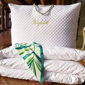 Premium 170*205 1,6 кг Зимнее одеяло Kingsilk Премиум белое