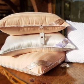 70*70 1,5 кг Mulberry AA Подушка Kingsilk Premium персиковая