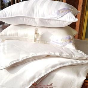 50*70 1,5 кг Mulberry AA Подушка Kingsilk Premium белая - фото 34547