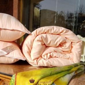 Premium 220*240 1,5 кг Всесезонное одеяло Kingsilk Премиум персиковое