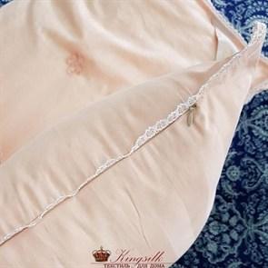 Premium 170*205 1 кг Всесезонное одеяло Kingsilk Премиум персиковое - фото 34566
