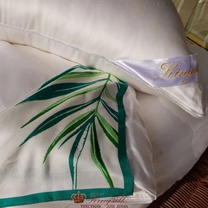 70*70 2 кг Mulberry AA Подушка Kingsilk Premium белая - фото 34677