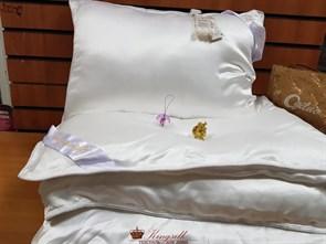 70*70 2 кг Mulberry AA Подушка Kingsilk Premium белая - фото 34678