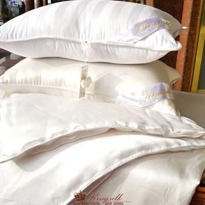 70*70 2 кг Mulberry AA Подушка Kingsilk Premium белая - фото 34679