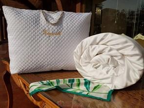 Premium 150*210 1 кг Всесезонное одеяло Kingsilk Премиум белое - фото 34682