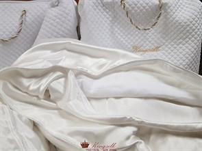 Premium 150*210 1 кг Всесезонное одеяло Kingsilk Премиум белое - фото 34683