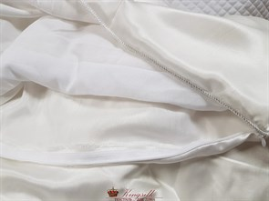 Premium 160*210 1 кг Всесезонное одеяло Kingsilk Премиум белое - фото 34689