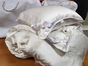 Premium 160*210 1 кг Всесезонное одеяло Kingsilk Премиум белое - фото 34690