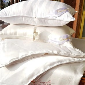 50*70 1 кг Mulberry AA Подушка Kingsilk Premium белая - фото 34694
