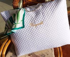 50*70 1 кг Mulberry AA Подушка Kingsilk Premium белая - фото 34695